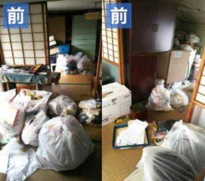 名古屋市港区で遺品整理‐片付け前