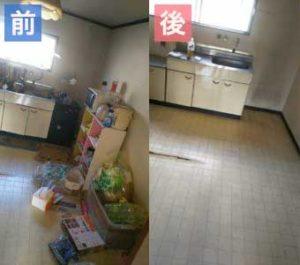 蟹江町で遺品整理‐before-after2