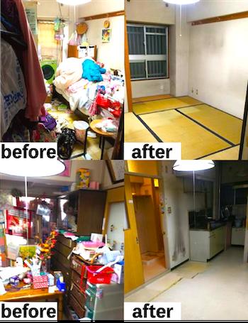 愛知県での遺品整理の事例