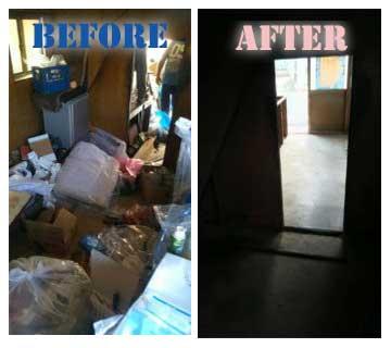 遺品整理‐before-after