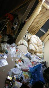 蟹江町で遺品整理‐片付け前
